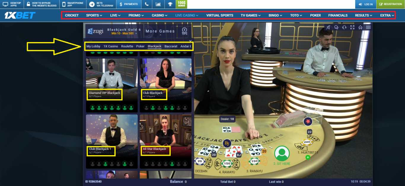 1xBet India: online casino games.